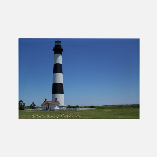 Bodie Island Lighthouse Rectangle Magnet
