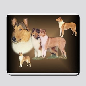 Rough and Smooth Collie Gifts Mousepad