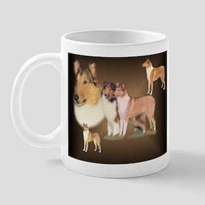 Rough and Smooth Collie Gifts Mug
