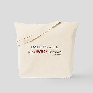Empires Crumble Tote Bag