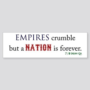 Empires Crumble Sticker (Bumper)