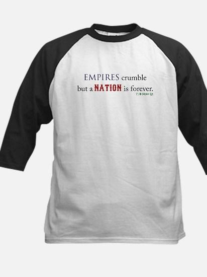 Empires Crumble Kids Baseball Jersey
