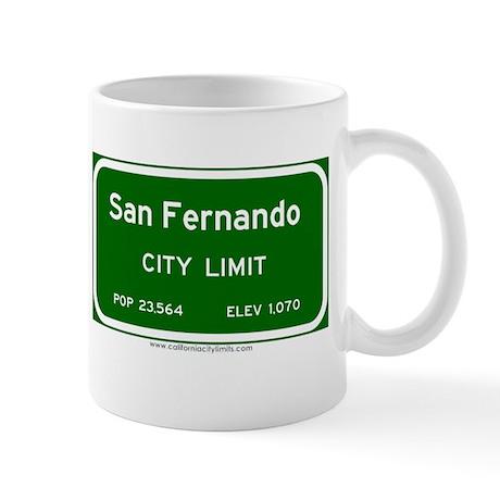San Fernando Mug