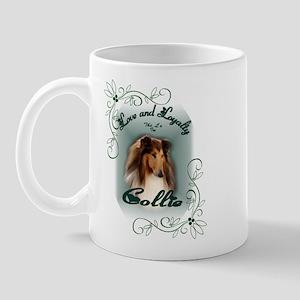 Rough Collie Gifts Mug