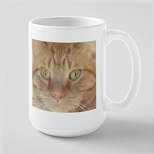Orange Tabby Cat Large Mug