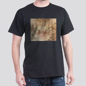 Orange Tabby Cat Dark T-Shirt
