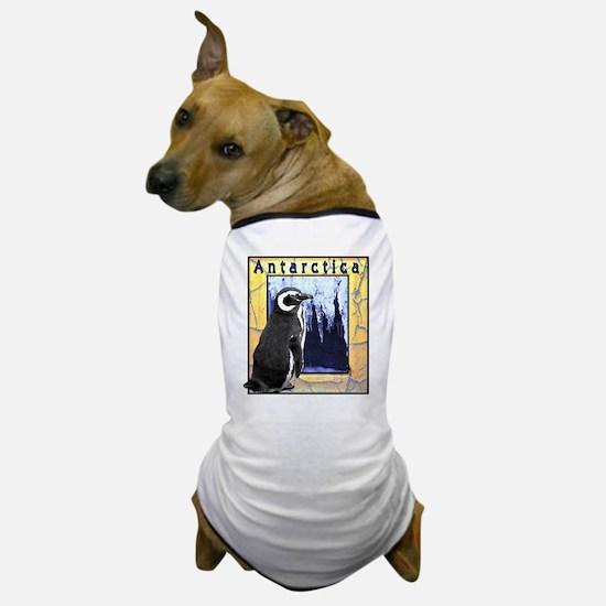 Antarctica Penguin Dog T-Shirt
