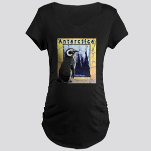 Antarctica Penguin Maternity Dark T-Shirt