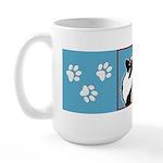 Keeshond Graphics 15 oz Ceramic Large Mug