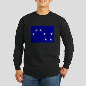 Starry Plough Long Sleeve Dark T-Shirt