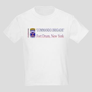 10th Mount Div 2BCT Kids Light T-Shirt