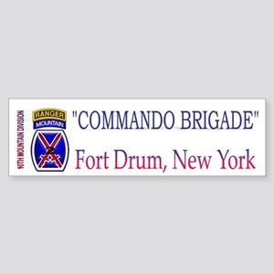 10th Mount Div 2BCT Bumper Sticker