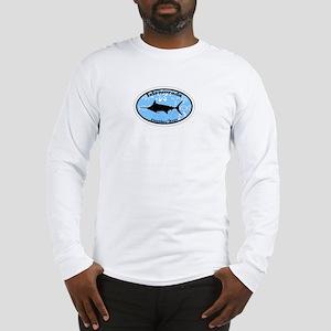 Islamorada FL - Oval Design Long Sleeve T-Shirt