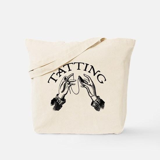 Tatting Tote Bag