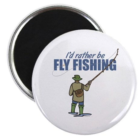 """Fly Fishing 2.25"""" Magnet (100 pack)"""
