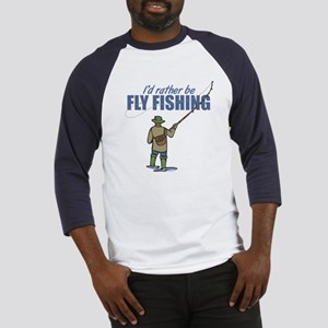 Fly Fishing Baseball Jersey