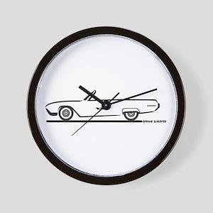 1963 Ford Thunderbird Convertible Wall Clock