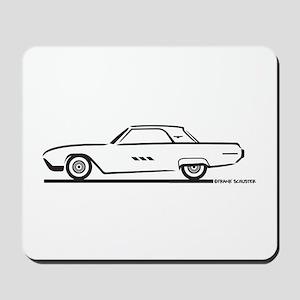 1963 Ford Thunderbird Hardtop Mousepad