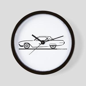1963 Ford Thunderbird Hardtop Wall Clock