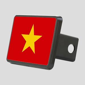 Vietnam Flag Rectangular Hitch Cover
