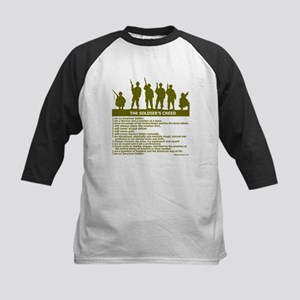 SOLDIER'S CREED Kids Baseball Jersey