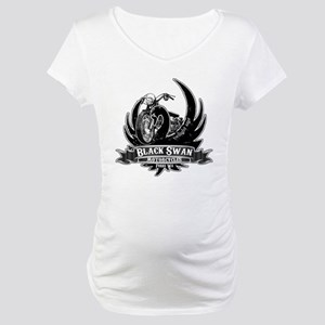 Black Swan Motorcycles Maternity T-Shirt