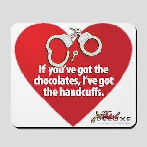 Bondage Valentine Mousepad