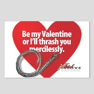 Dominatrix Valentine Postcards (Package of 8)