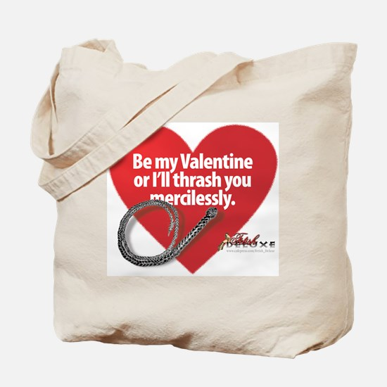Dominatrix Valentine Tote Bag