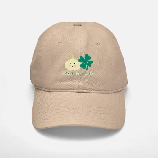 Garlic & Gaelic Baseball Baseball Cap