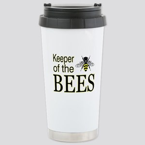 keeping bees Stainless Steel Travel Mug