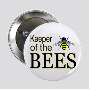 "keeping bees 2.25"" Button"