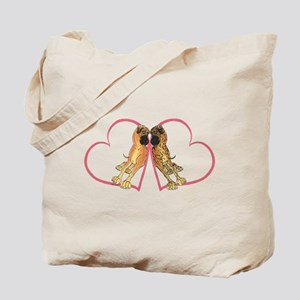 Two Hearts NF/NBr Tote Bag
