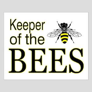 keeping bees Small Poster
