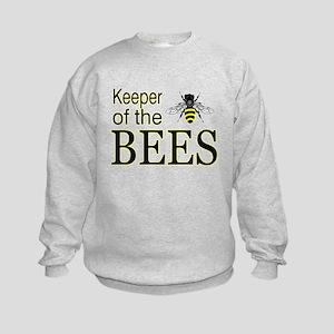 keeping bees Kids Sweatshirt
