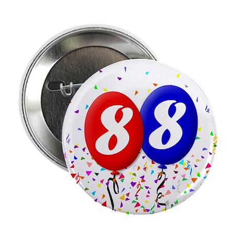 88th Birthday Button