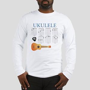 Ukulele 7 Chords Long Sleeve T-Shirt