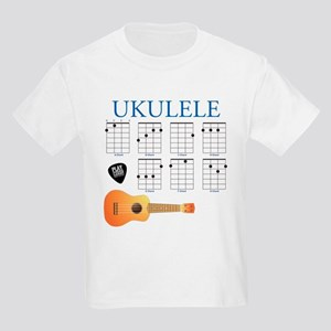 Ukulele 7 Chords Kids Light T-Shirt
