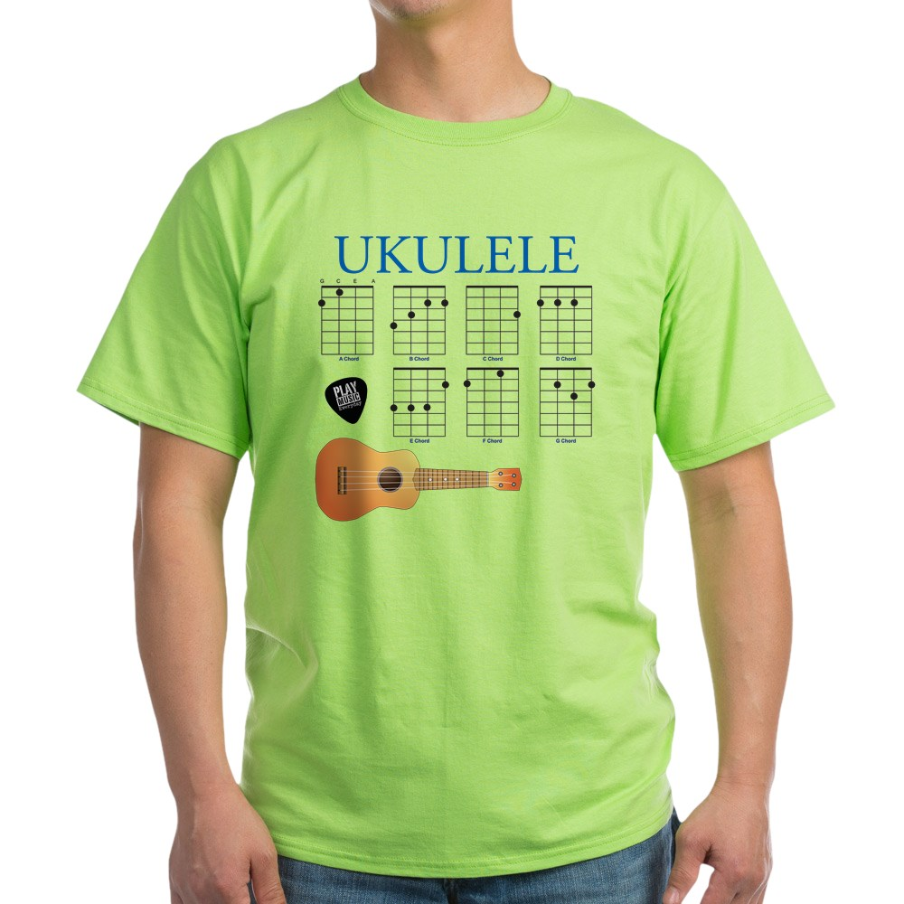 CafePress-Ukulele-7-Chords-Light-T-Shirt-100-Cotton-T-Shirt-422333777 thumbnail 17