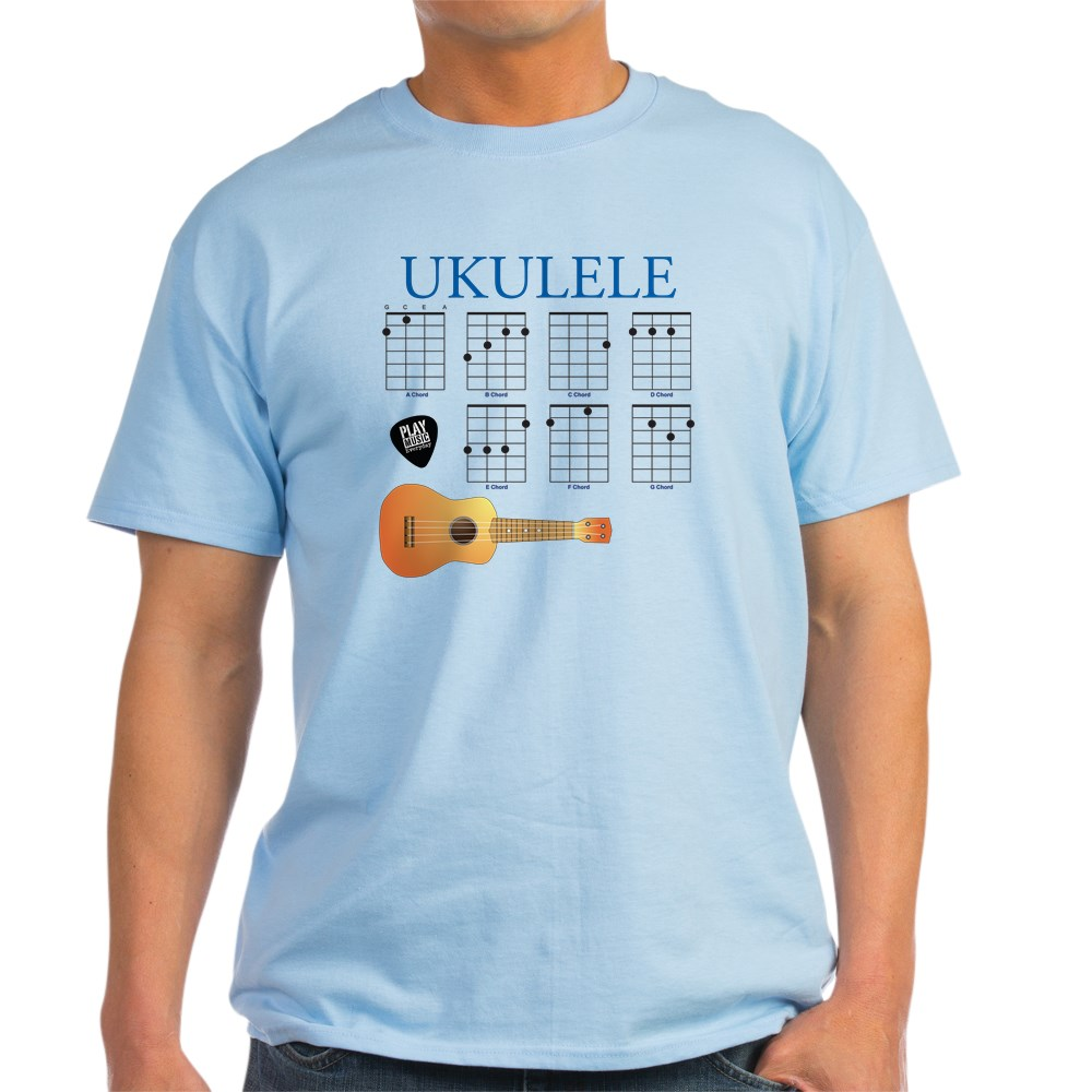 CafePress-Ukulele-7-Chords-Light-T-Shirt-100-Cotton-T-Shirt-422333777 thumbnail 36