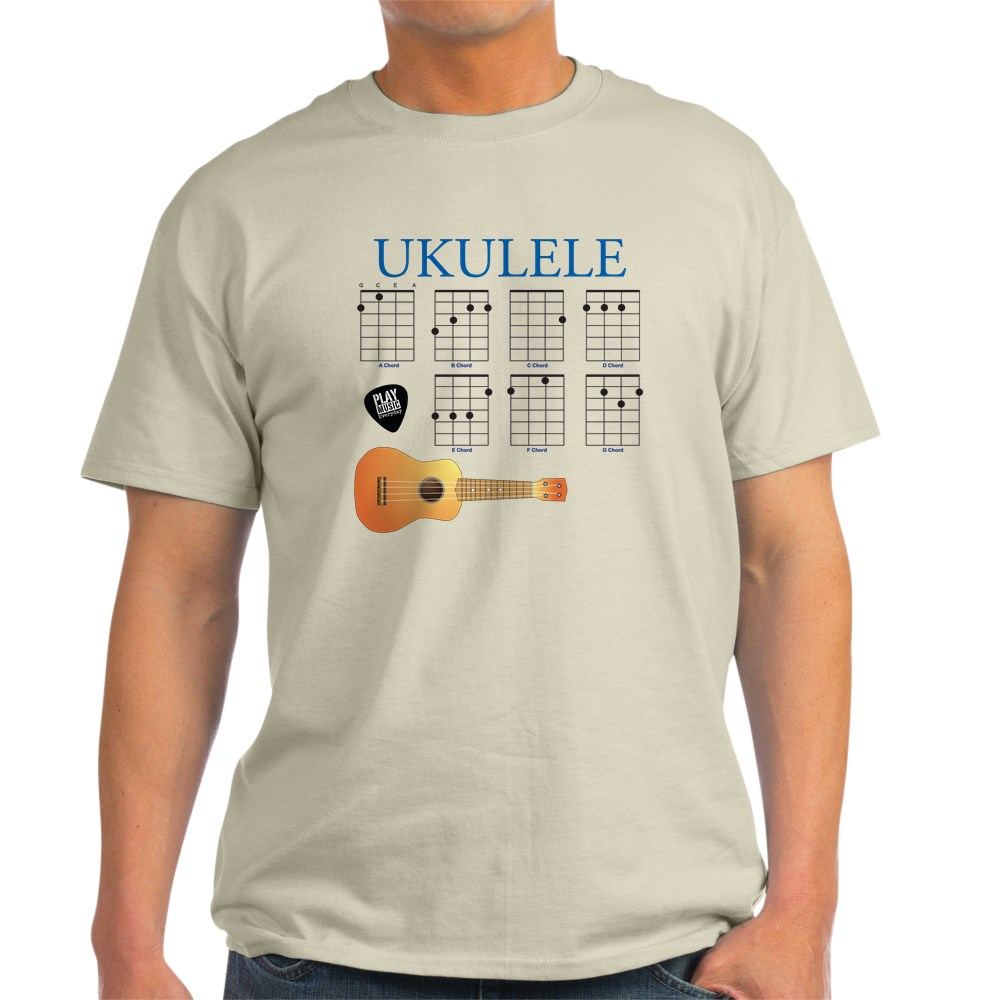 CafePress-Ukulele-7-Chords-Light-T-Shirt-100-Cotton-T-Shirt-422333777 thumbnail 47