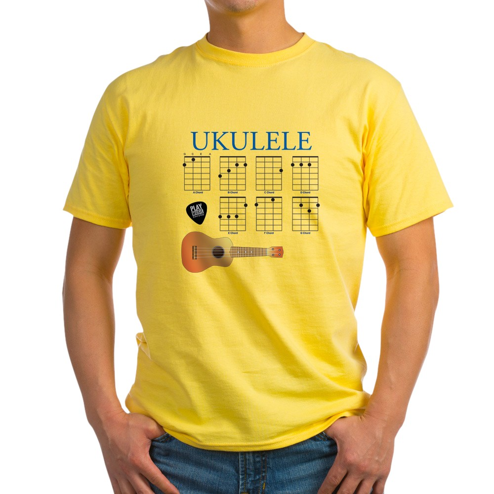 CafePress-Ukulele-7-Chords-Light-T-Shirt-100-Cotton-T-Shirt-422333777 thumbnail 57