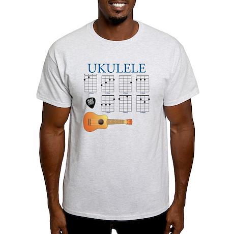 Ukulele 7 Chords Light T-Shirt