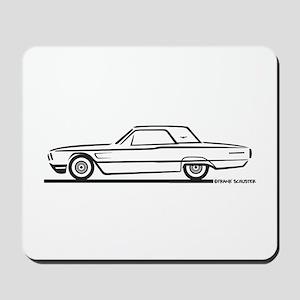1965 Ford Thunderbird Hardtop Mousepad