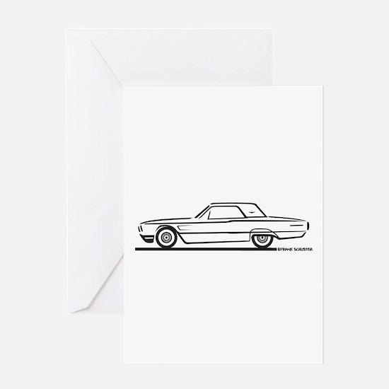 1965 Ford Thunderbird Hardtop Greeting Card