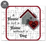 A House is not a Home without a Dog Puzzle