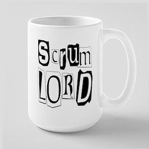 Rugby Scrumlord Large Mug