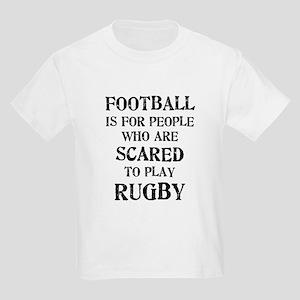 Rugby vs. Football 2 Kids Light T-Shirt