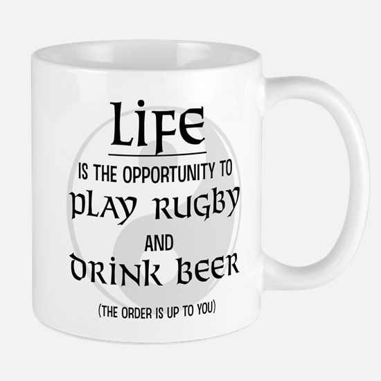 Rugby and Beer Mug