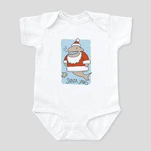 Santa Jaws Infant Bodysuit